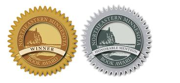 Book seals for NEMBA Winner and Honorable Mention